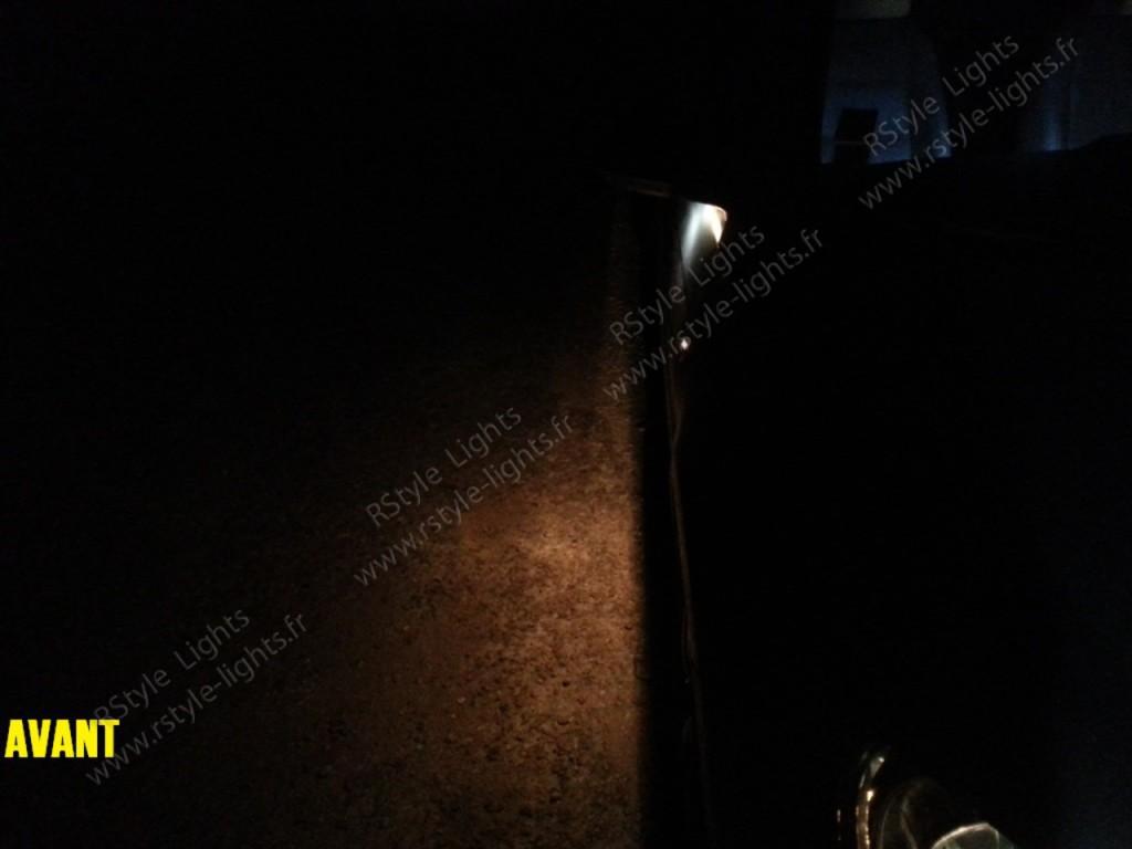 Eclairage d'accès ampoules d'origines