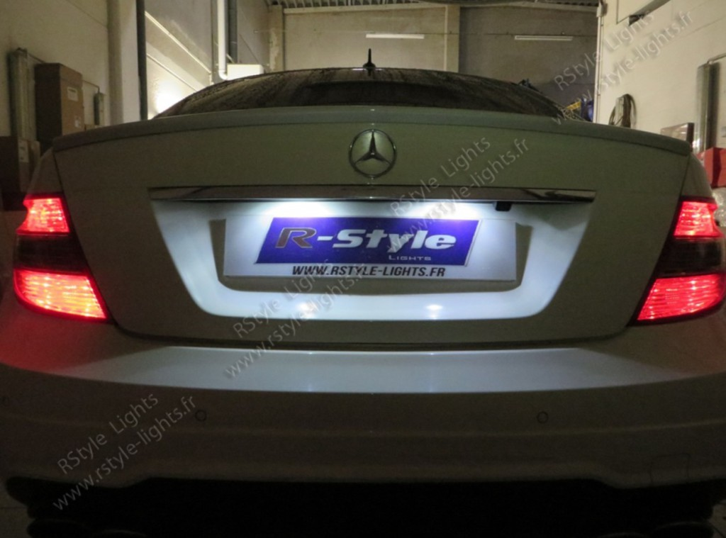 Blocs Plaque led sur Mercedes W204