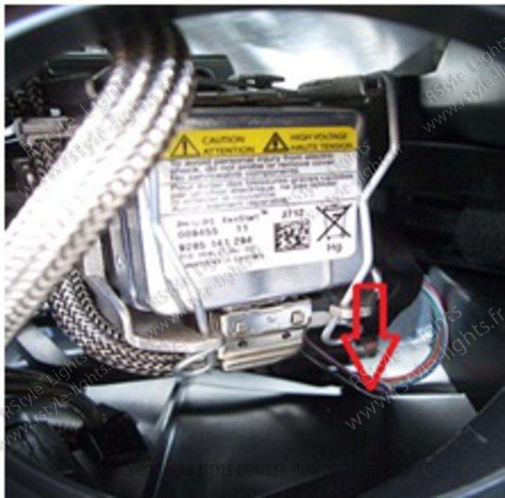 Remplacement changement ampoule D1S D1R D3S D3R et D2S D2R D4S D4R 6