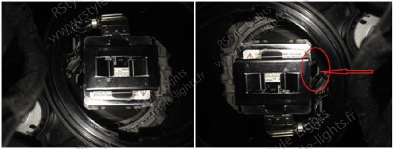 Remplacement changement ampoule D1S D1R D3S D3R et D2S D2R D4S D4R 8
