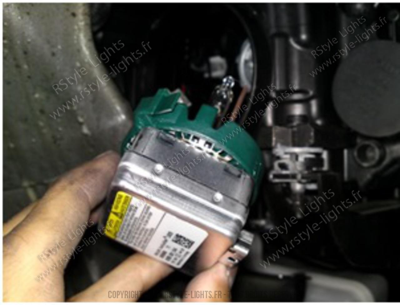Remplacement changement ampoule D1S D1R D3S D3R et D2S D2R D4S D4R 9